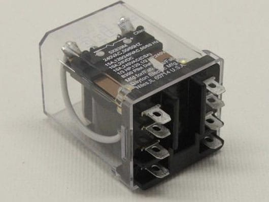 RELAY - 2 POLE, 240V, TOP ONLY (SLEEVE WRAPPER OR ET2082) ET820016