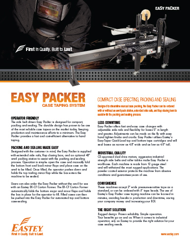 Easy Packer Brochure