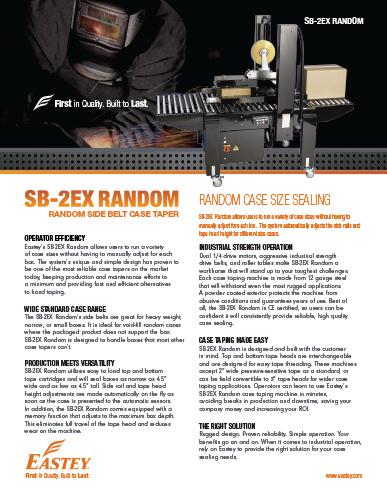 SB-2EX Random Brochure