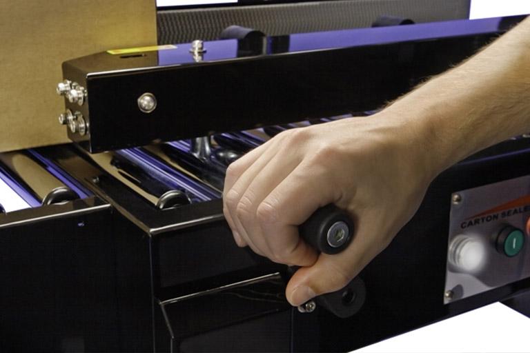 Eastey Uniform Case Taper SB-2EX Side Belt Adjustable Side Rails