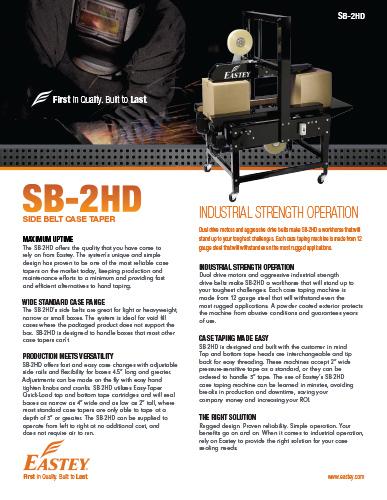 SB-2HD Brochure