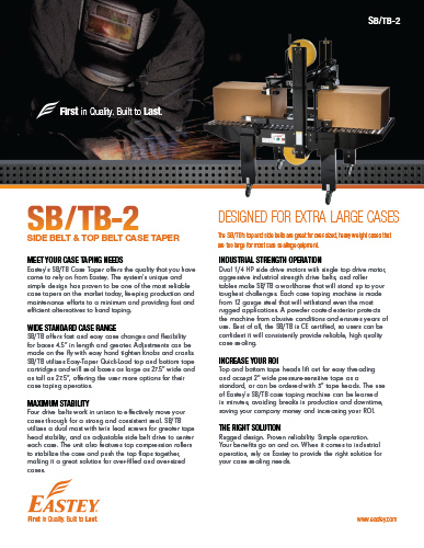 SB/TB-2 Brochure