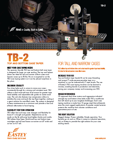 TB-2 Brochure