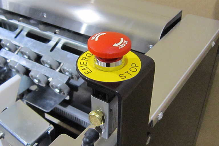 Eastey EXCF Carton Former Case Handling Air Only Operation with Emergency Stop