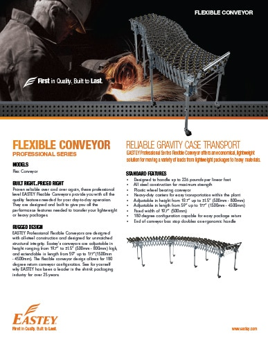 Flex Conveyor Brochure