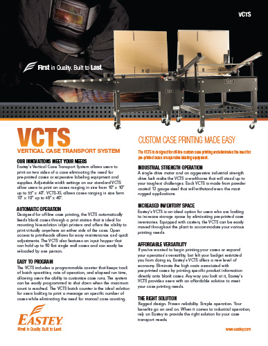 VCTS Brochure