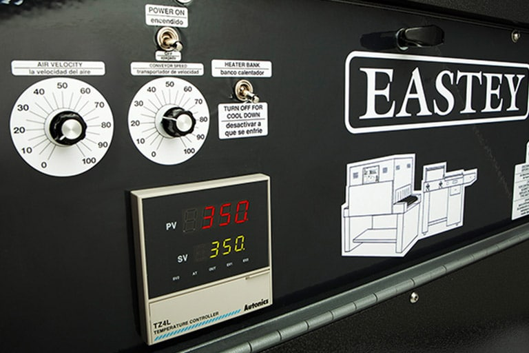 Eastey Professional Series Shrink Tunnels Control Panel